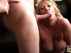Mature bdsm brit paddled and drilled