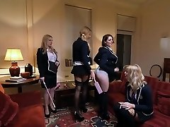 Greatest pornstars Georgie Lyall, Samantha Bentley and Lexi Lowe in beautiful lesbian, assfuck xxx clip