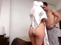 Hot Arab Milf Big Ass fucked hard by Euro guy