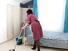 dude fuck hairy mature maid