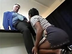 Old Boss and youthfull Maid (german) -F70