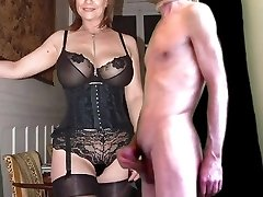 cuckold cum for mature busty wife in pantyhose