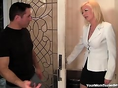 Steamy Mom Is Horny And Prepped For Cock!