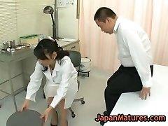 Nurse natsumi kitahara gets her fuckbox