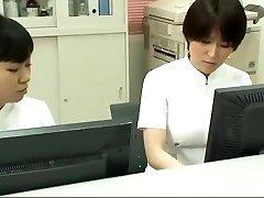 Insane Japanese whore Emiri Momoka, Mirei Yokoyama, Aya Kiriya in Amazing Handjobs JAV flick