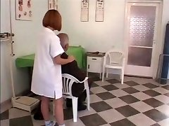 Older man fucks young nurse