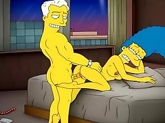 Cartoon Pornography Simpsons Porn mummy Marge have