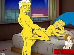 Cartoon Porno Simpsons Porn mummy Marge have