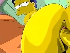 Simpsons Porn - Homer pokes Marge