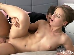 MOM Wet milf takes rock hard meatpipe doggie-style