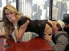 Divine blonde mommy Jessica Drake is plumbed truly well