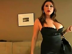 Mom Entices Younger Fellow In Hotel POV
