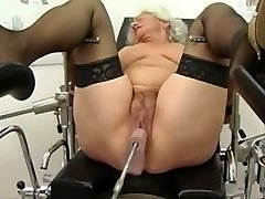 Grannie Norma Works out on a Hump Machine