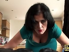 Mature sub assfucked until red raw and destroyed