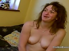 Gross council estate slut willing to do anal on camera
