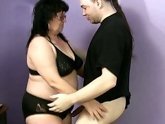 Ugly fatso Ramona desires to please a strong sizzling dick