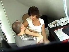 Hidden sex web cam clip shows a couple shagging