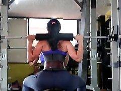 Fitness hot Backside hot CAMELTOE 90