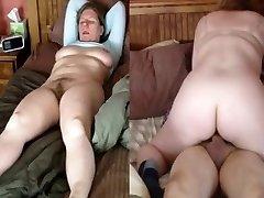 妻が乗り、orgasm