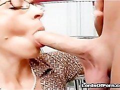 Crazy hookup freak teacher Drunna with big ass