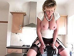 Busty daughter extreme ejaculation