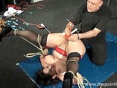 Enslaved milfs cootchie hot waxing and extraordinary bbw bondage & discipline of amateur slavegirl