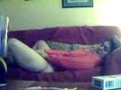 Hidden cam. My mom masturbating