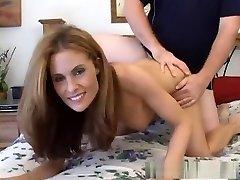 Hottest pornstar Ginger Lea in unbelievable mature, facial porn video