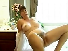 Unbelievable homemade Hairy, Solo Nymph xxx video