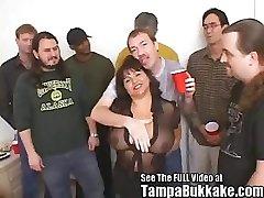 Susie's Group Bang Bukkake Soiree for Tampa Bukkake