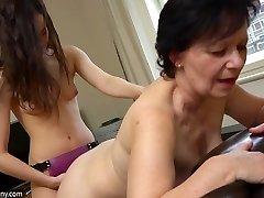 Filthy mature fuckslut is always in the mood for some strap-on play