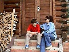 Russian Auntie And Nephew's homie
