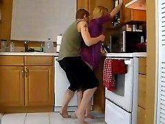 Plowing Mom In The Kitchen