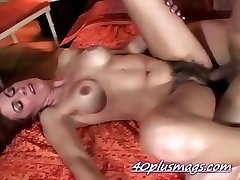 Pounding unshaved housewife Karen