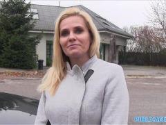 PublicAgent Desperate Milf Ravages for a Job