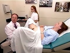 A real examination video from a fur covered mature woman 2