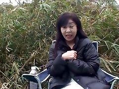 50year old Granny Satoko Tabata Creampied (Uncensored)
