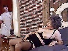 Oma And Guy On Sofa