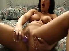 Fabulous Mature Play With Her Toys