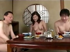 Japanese mature mother and step son