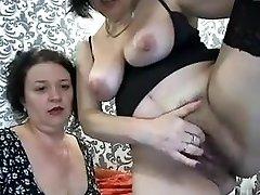 2 Russian 48yo whores on webcam