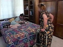 Mature brown-haired indulges in super-steamy oral sex