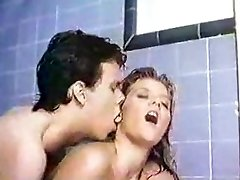 Ginger Lynn steamy douche blonde classic