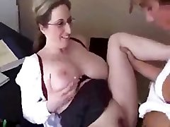 Today is this mommy�s last day as instructor, so she decides to fuck her college girl