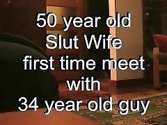 50 Year Old Milf Fucks Super-steamy Stud ( Fucking Hot inexperienced VID )