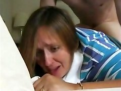 recently divorced mommy janet & her first rectal