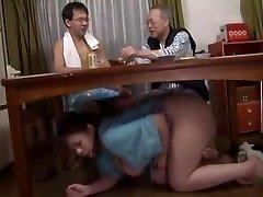 Incredible Asian slut in Handsome Blowjob, Fetish JAV clip