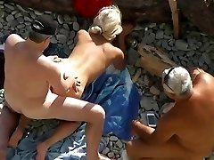 Aged Blond Engulf & Fuck - Ally Watches