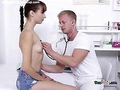 Cute Teenie Lida Gets Taken Care Of By Doctor