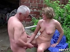 Grannie is a great fuck - MMVFilms